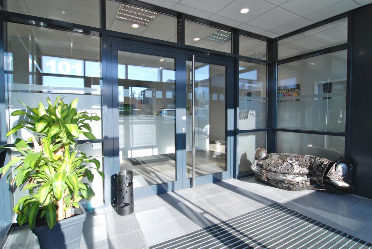 Eingangsbereich Hofer Karosserie & Lack GmbH