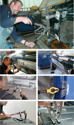 Miracle Ausbeulsystem - Die Arbeitsweise. Hofer Karosserie + Lack GmbH Kiel Kronshagen